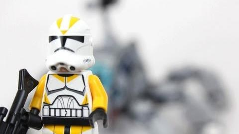 LEGO Star Wars Umbaran MHC (Mobile Heavy Canon) Review 75013-1