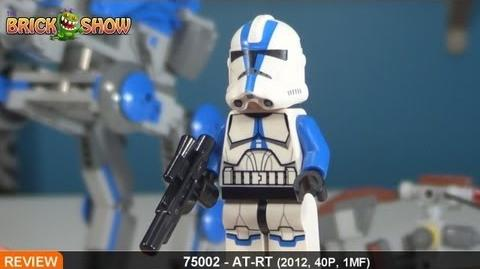 LEGO Star Wars AT-RT Review LEGO 75002