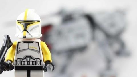LEGO Star Wars AT-TE Review 75019