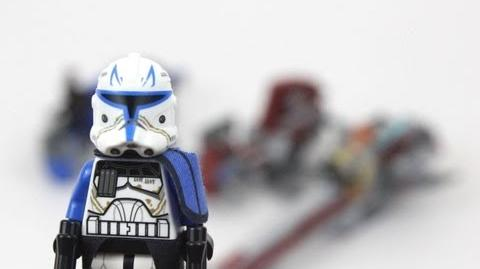 LEGO Star Wars BARC Speeder with Sidecar Review 75012