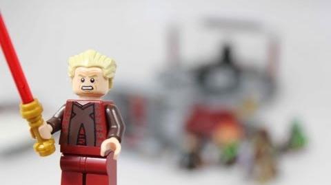 LEGO Star Wars Palpatine's Arrest Review 9526