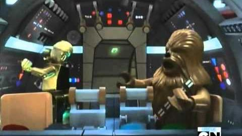 Lego Star Wars The Empire Strikes Out (2012) - (FULL MOVIE)