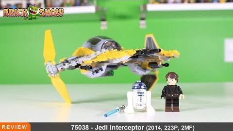 LEGO Star Wars Jedi Interceptor Review, Set 75038