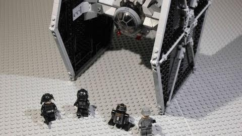 LEGO Star Wars TIE Fighter Review 9492