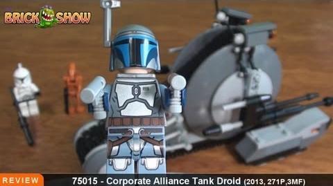 LEGO Star Wars Corporate Alliance Tank Droid