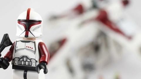 LEGO Star Wars Republic Gunship Review 75021-0