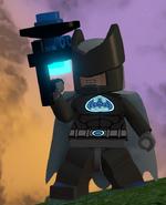 Batman Sonar Suit full