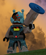 Cyborg Sonar Suit full