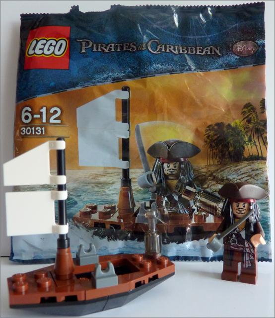 30131 Jack Sparrow with Raft