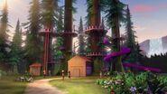 41122 La cabane de la base d'aventure