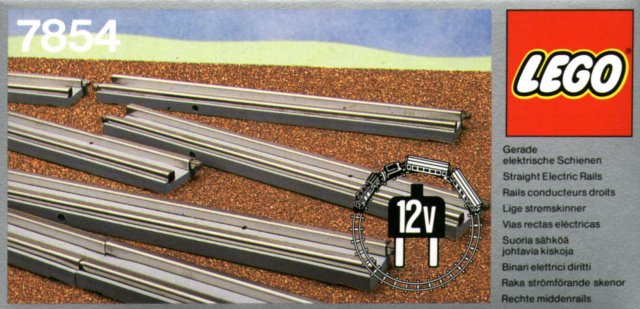 7854 Straight Electric Rails