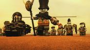 Iron Baron, Muzzle and Jet Jack on the Desert.