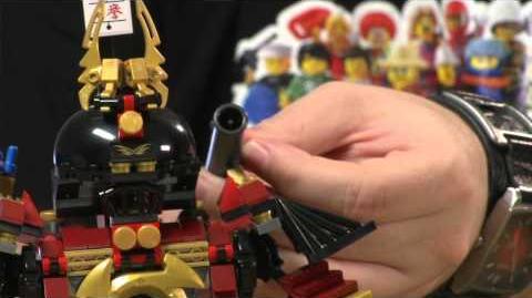 LEGO Ninjago - Samurai Mech Designer Video