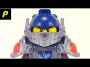 LEGO Nexo Knights Clay (2016) - Minifig Turnaround-2