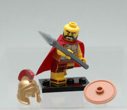 Lego Minifigure Spartan 3