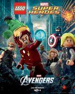 The Avengers Lego Poster