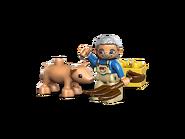 5643 Le fermier et son cochon