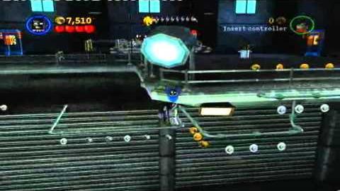 LEGO Batman Walkthrough-Heroes- Chapter 1 Level 5 - The Face-Off