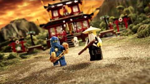 LEGO Ninjago - Fire Temple vs