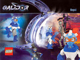 Postcard - Galidor - Defenders of the Outer Dimension - Nepol