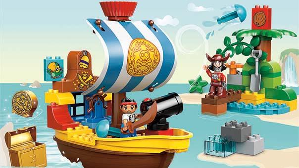 10514 Le vaisseau pirate de Jake