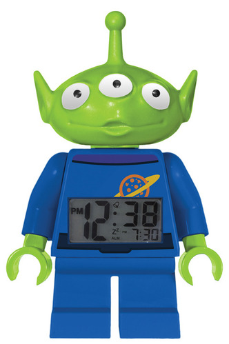 Alien Minifigure Clock
