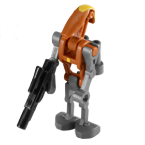 Commandant droïde de combat lance-roquettes