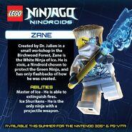 LEGO Ninjago Nindroids Zane