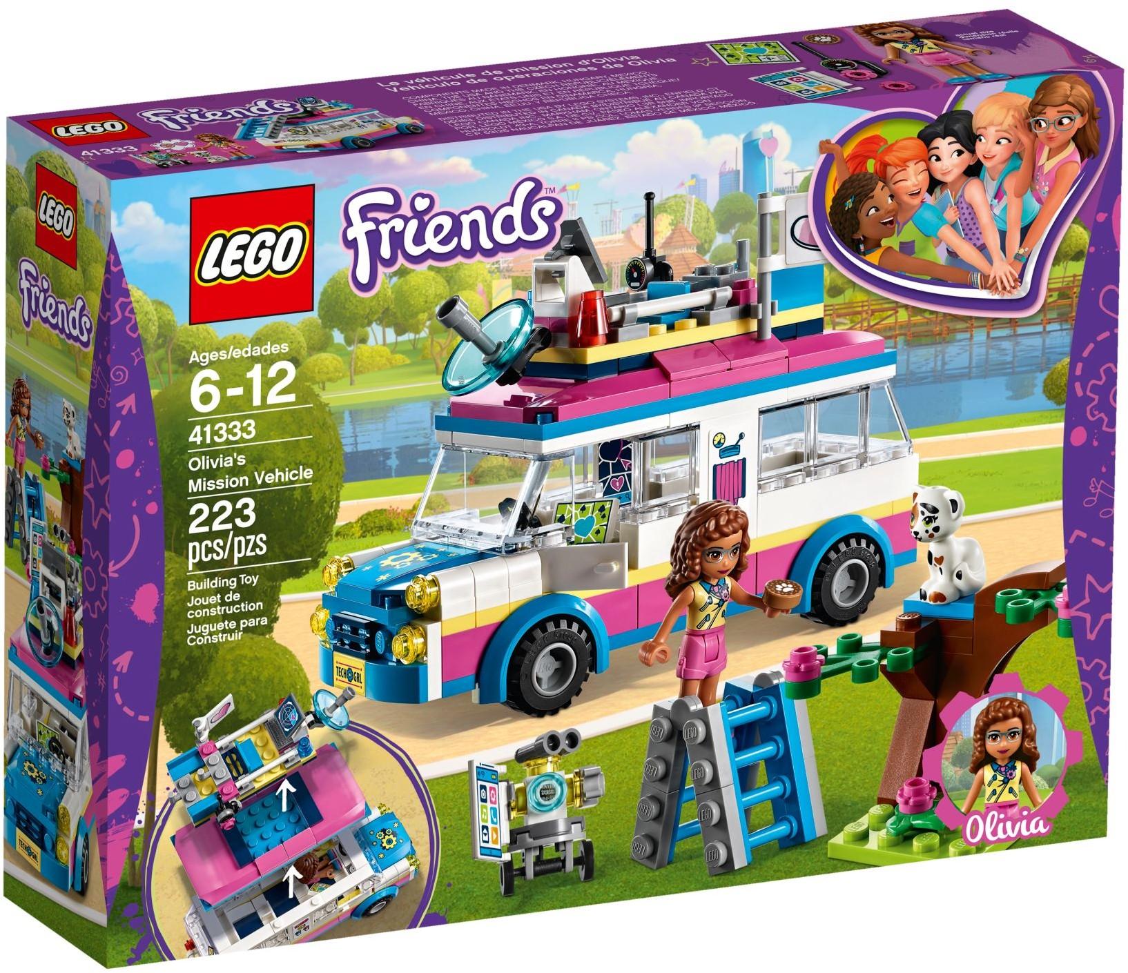 41333 Olivia's Mission Vehicle