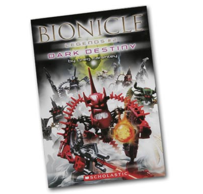 B955 BIONICLE Legends 2: Dark Destiny