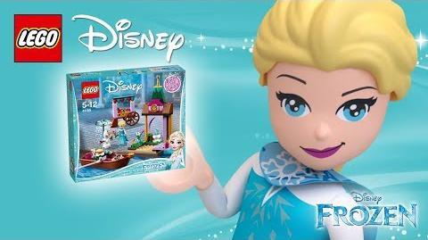 Elsa's Market Adventure - Product Animation - 41155 LEGO Disney
