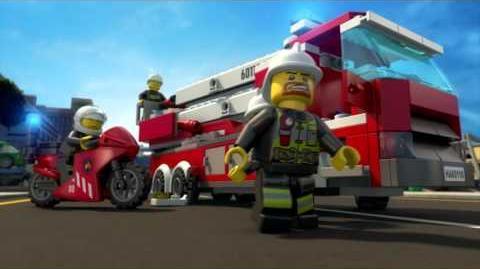 LEGO® City - Tűzoltóállomás - Minden segítő kéz elkél