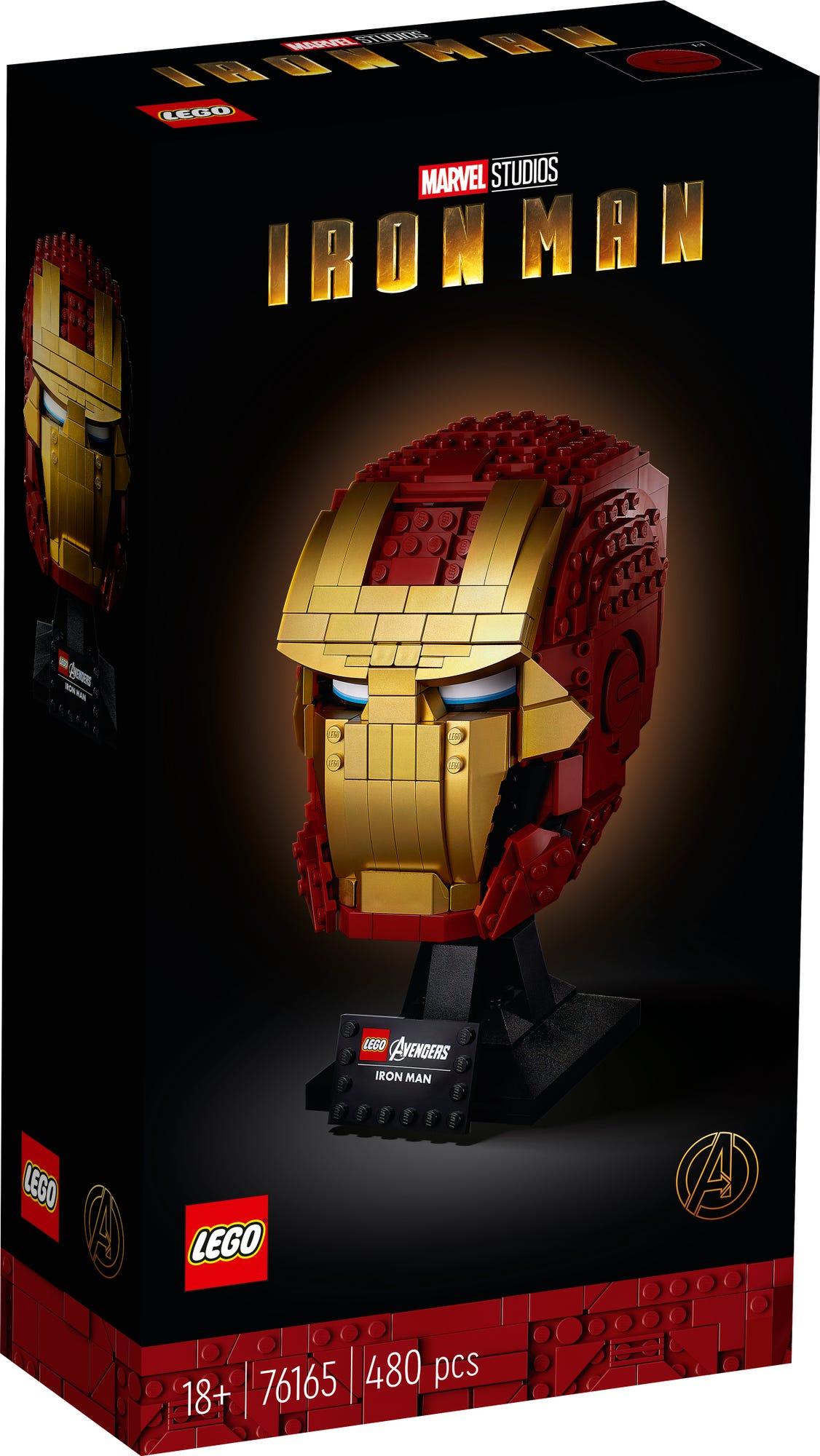 76165 Iron Man Helmet