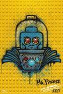 The LEGO Batman Movie Poster graffiti Mr. Freeze