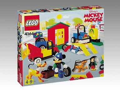 4166 Mickey's Car Garage