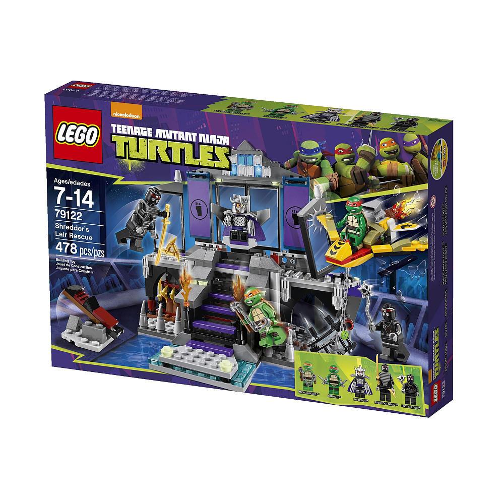 79122 Shredder's Lair Rescue