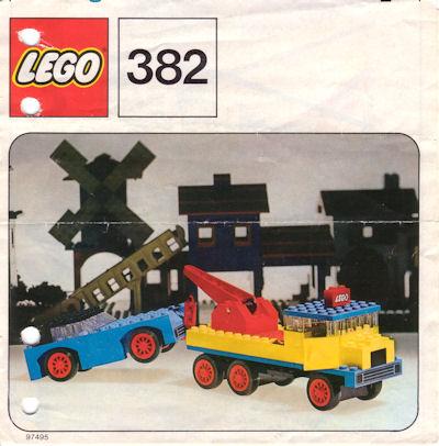 382 Breakdown Truck and Car