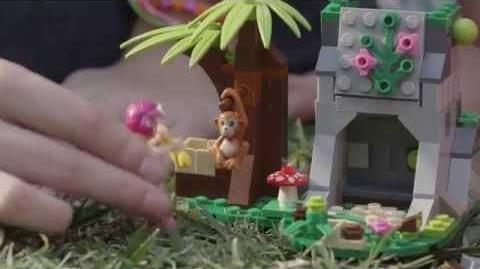 LEGO Building with Friends - First Aid Jungle Bike Promo