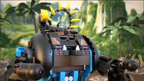 LEGO Chima - 70008 Gorzanův gorilí útočník