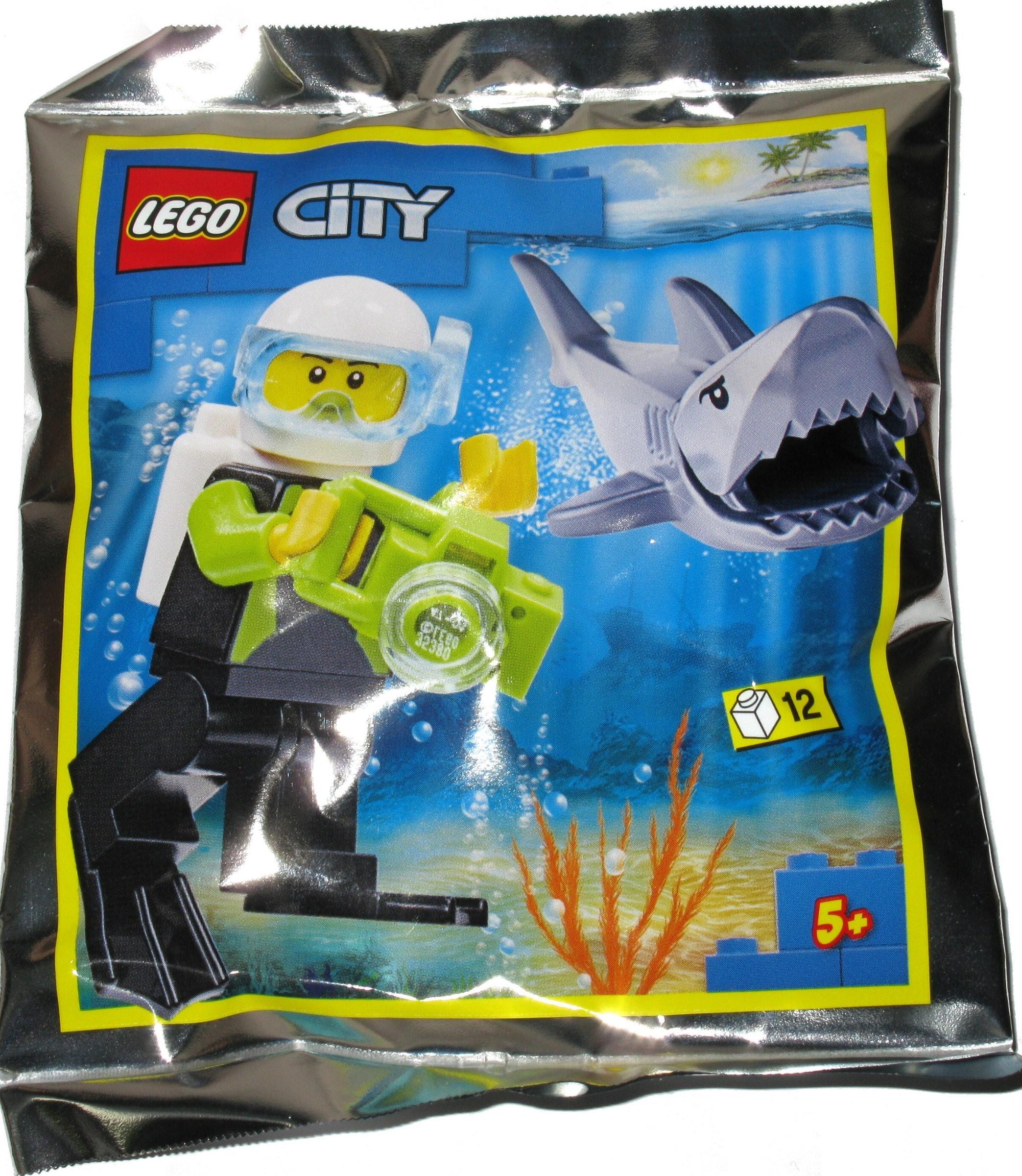 952019 Scuba Diver and Shark