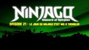 Le jour où Ninjago s'est mis à trembler