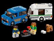 60117 La camionnette et sa caravane