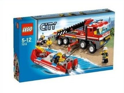 7213 Off-Road Fire Truck & Fireboat