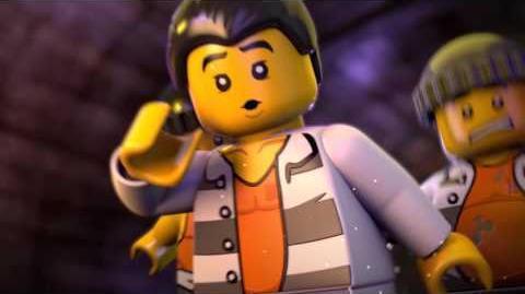 LEGO® City Börtönsziget - Szökés a Börtönszigetről