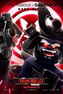 The LEGO Ninjago Movie Poster Garmadon 2