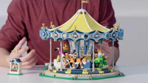 Carousel - LEGO Creator Expert - 10257 - Designer Video