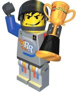 Rocket Racer manual trophy