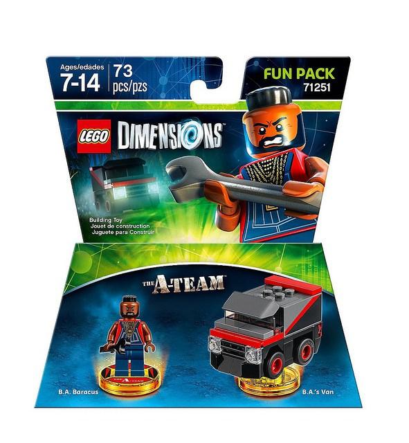 71251 The A-Team B.A. Baracus Fun Pack
