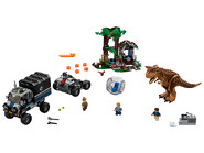 75929 Le Carnotaurus et la fuite en Gyrosphère