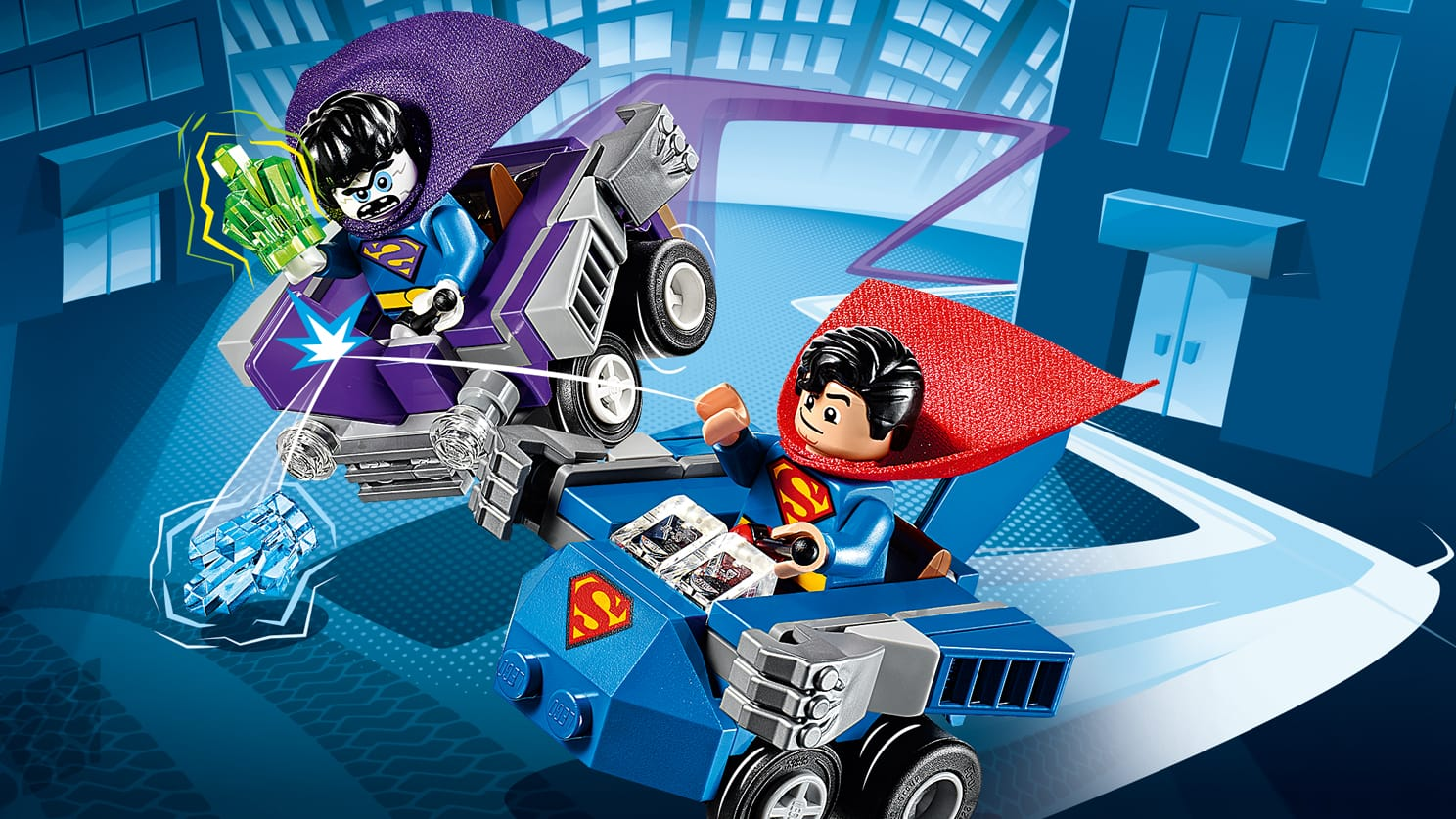 76068 Mighty Micros : Superman contre Bizarro